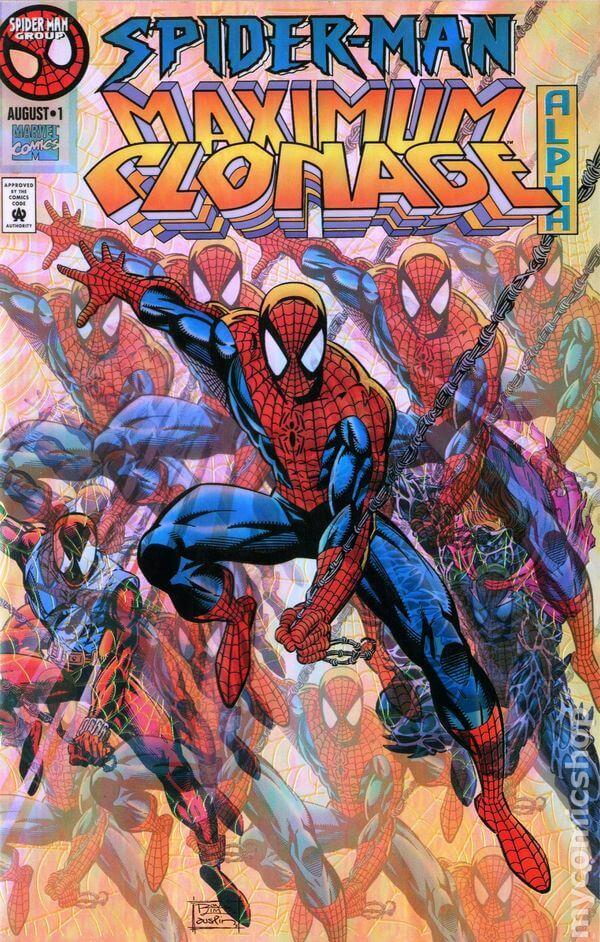 Spider-Man Maximum Clonage Alpha Gold