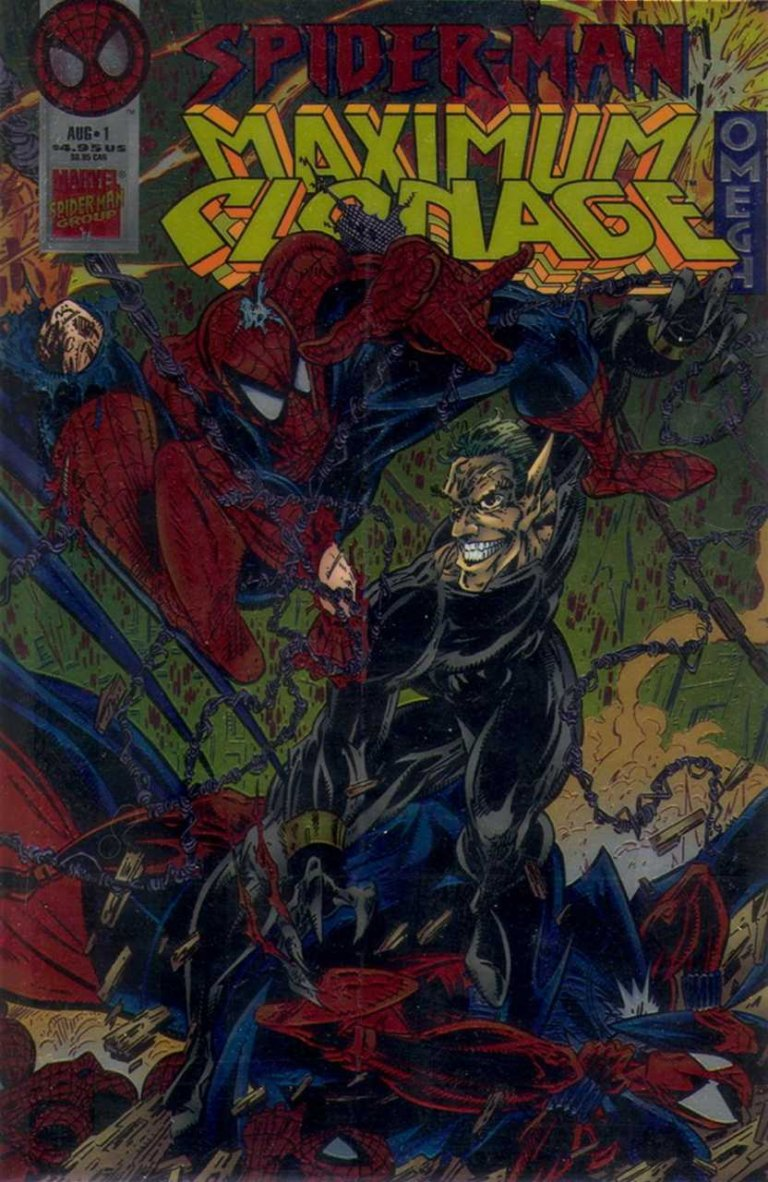Spider-Man Maximum Clonage Omega