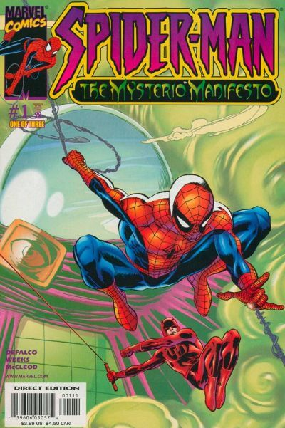 Spider-Man: Mysterio Manifesto Vol 1 #1