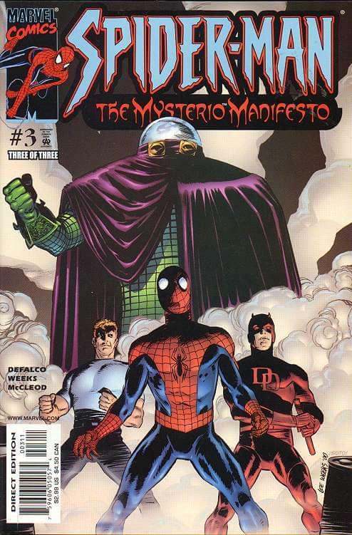 Spider-Man: Mysterio Manifesto Vol 1 #3