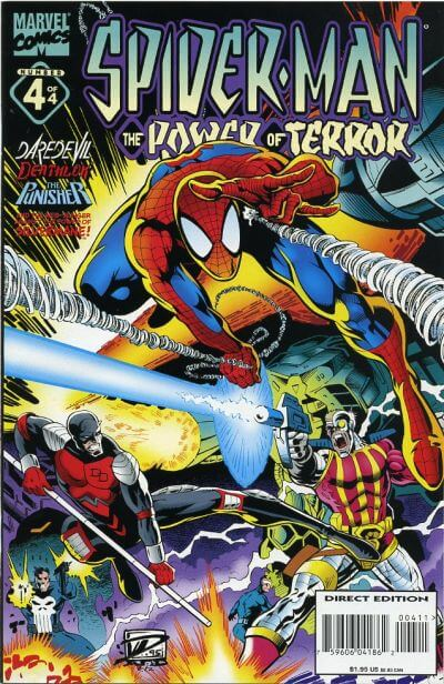 Spider-Man: Power of Terror Vol 1 #4