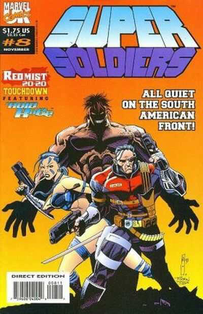 Super Soldiers vol 1 #8