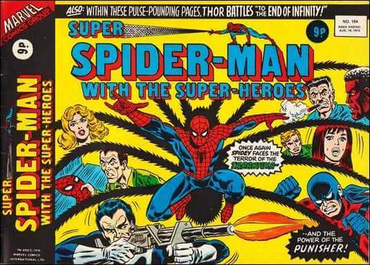 Super Spider-Man with the Super-Heroes vol 1 #184