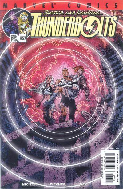 Thunderbolts vol 1 #57