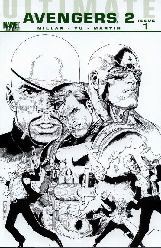 Ultimate Avengers 2 vol 1 #1 d