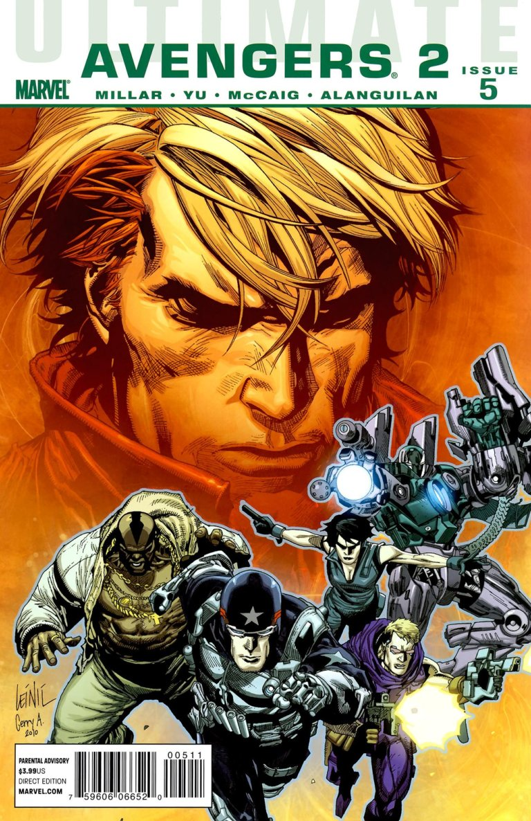 Ultimate Avengers 2 vol 1 #5