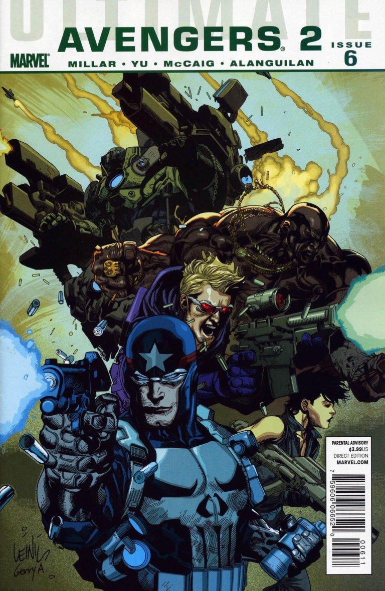 Ultimate Avengers 2 vol 1 #6