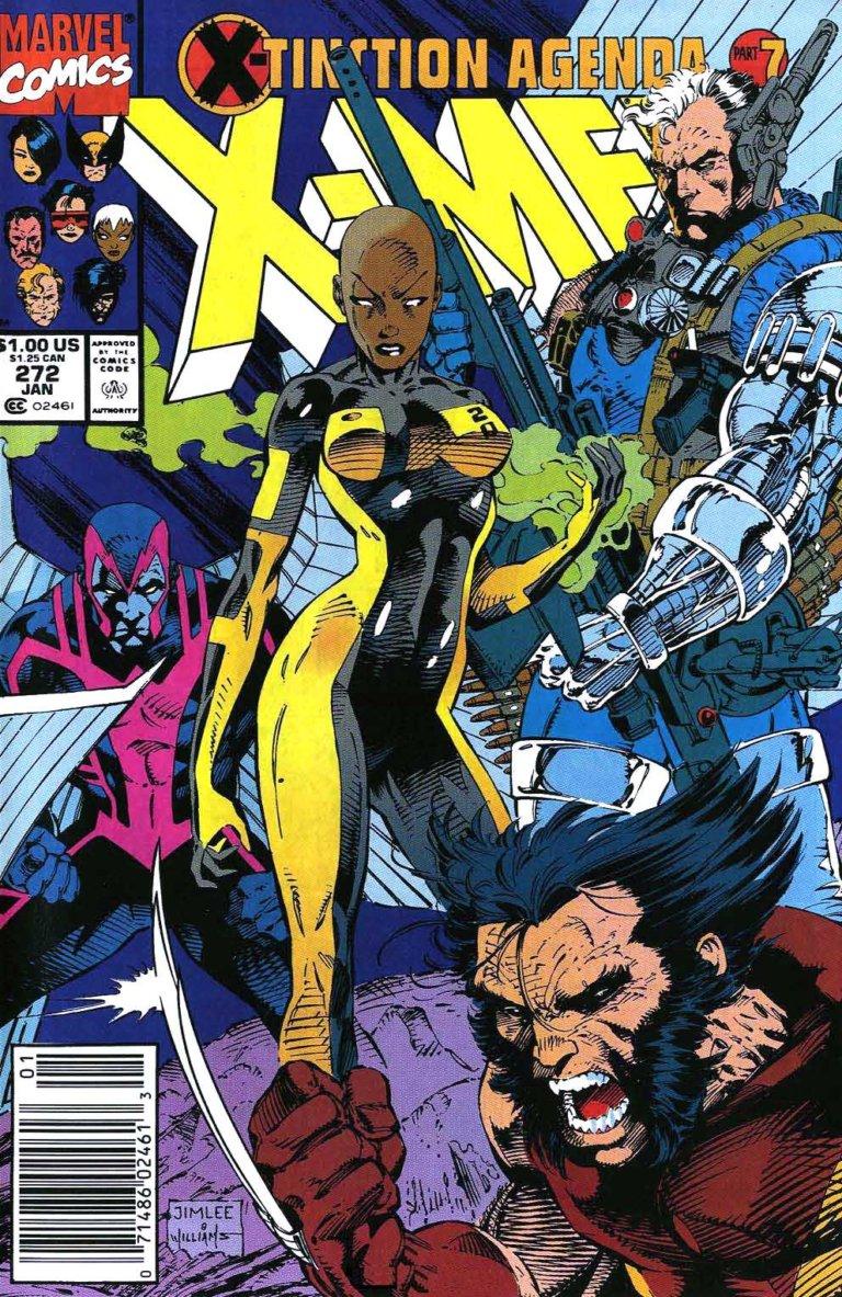 Uncanny X-Men vol 1 #272