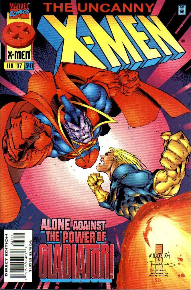 Uncanny X-Men vol 1 #341