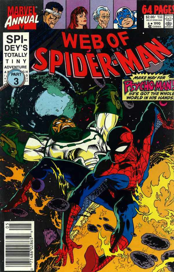 Web of Spider-Man Annual vol 1 #6