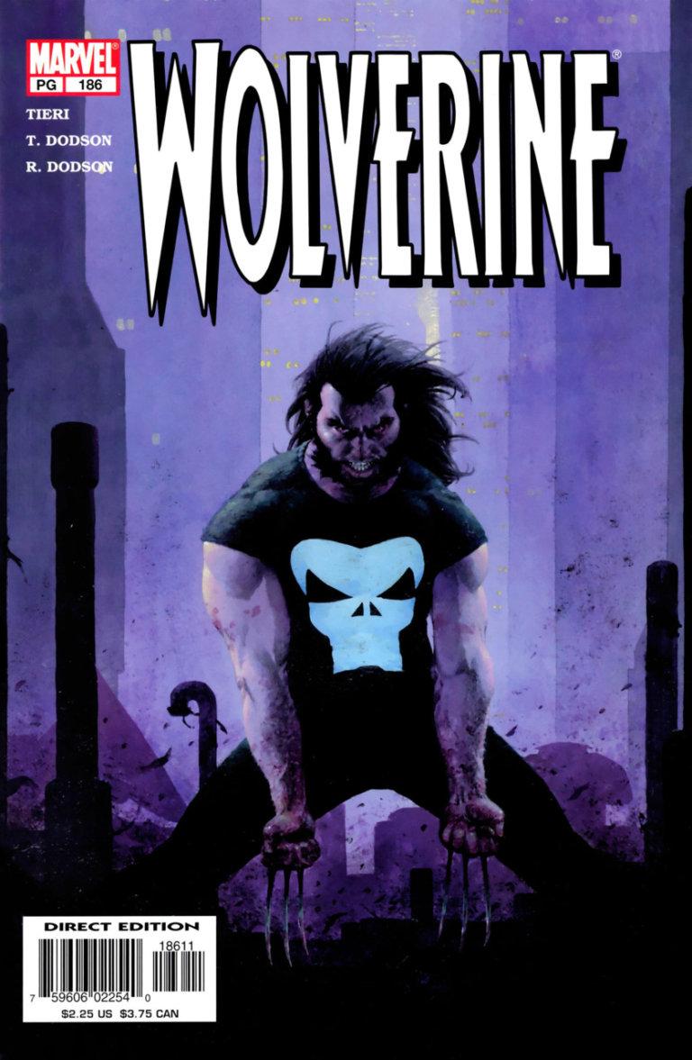 Wolverine vol 2 #186