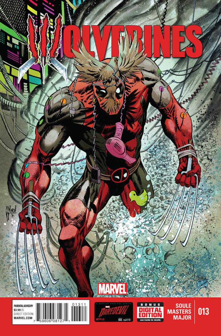 Wolverines vol 1 #13