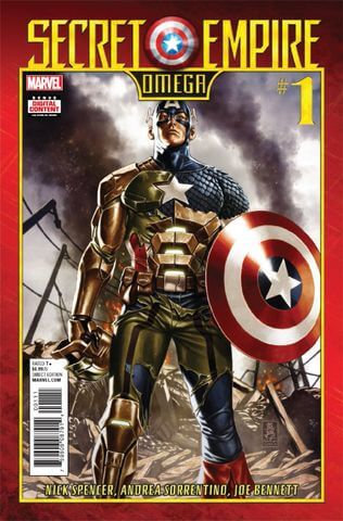 Secret Empire Omega Vol 1 #1
