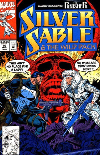 Silver Sable and the Wild Pack Vol 1 #10