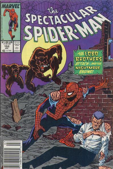 Spectacular Spider-Man Vol 1 #152