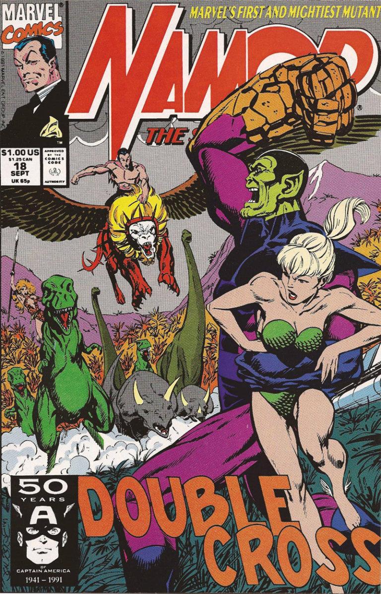 Namor the Sub-Mariner Vol 1 #18