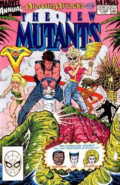 New Mutants Annual #5