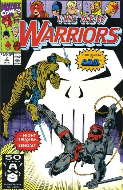 New Warriors Vol 1 #7