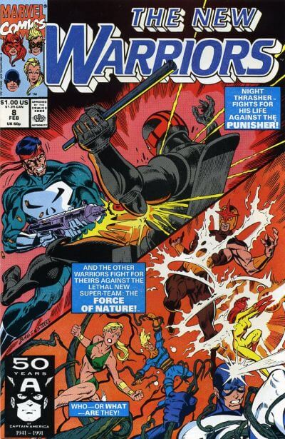 New Warriors Vol 1 #8