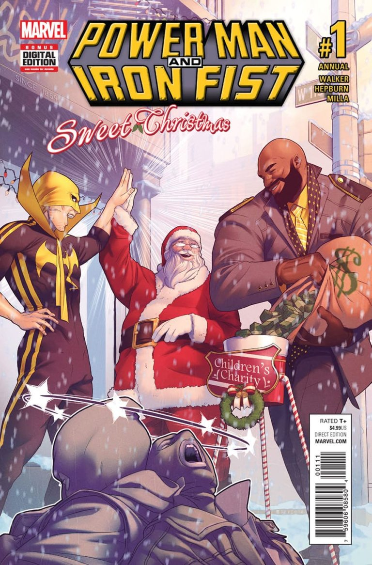 Power Man and Iron Fist Sweet Christmas Annual Vol 1 #1