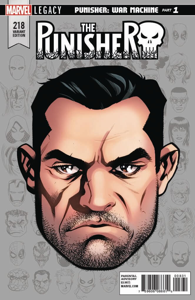 Punisher Vol 1 #218 d