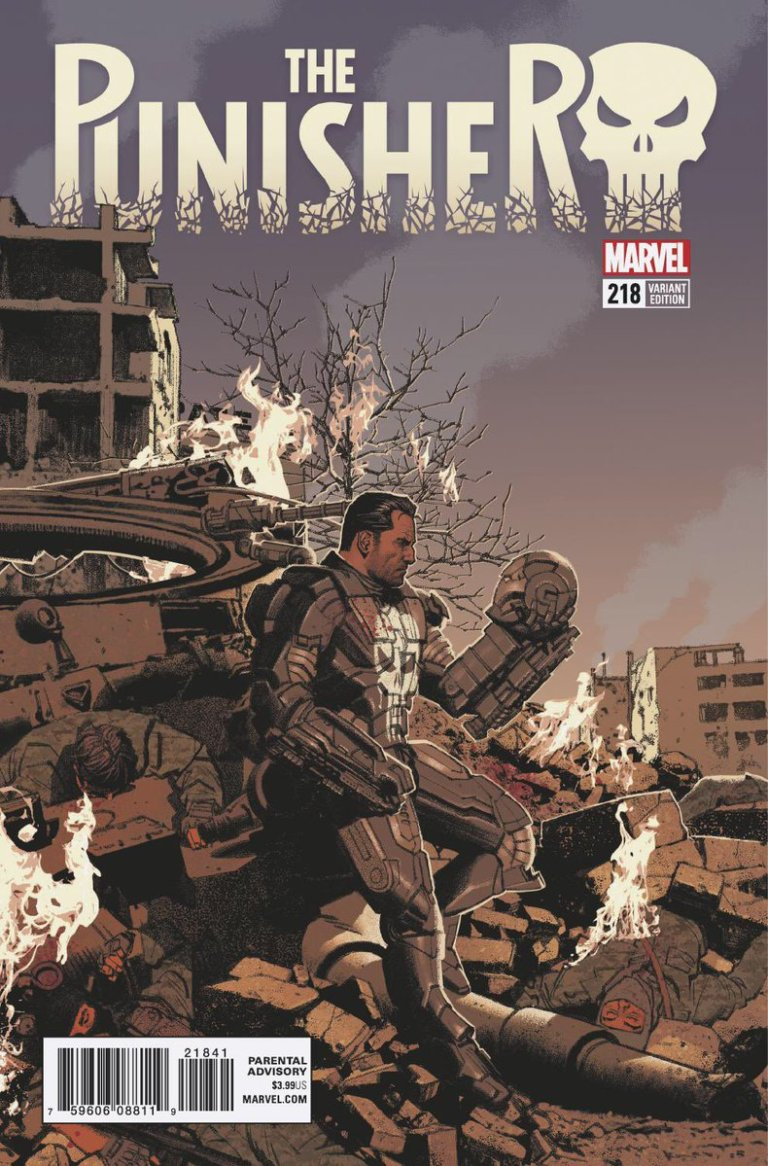 Punisher Vol 1 #218 e