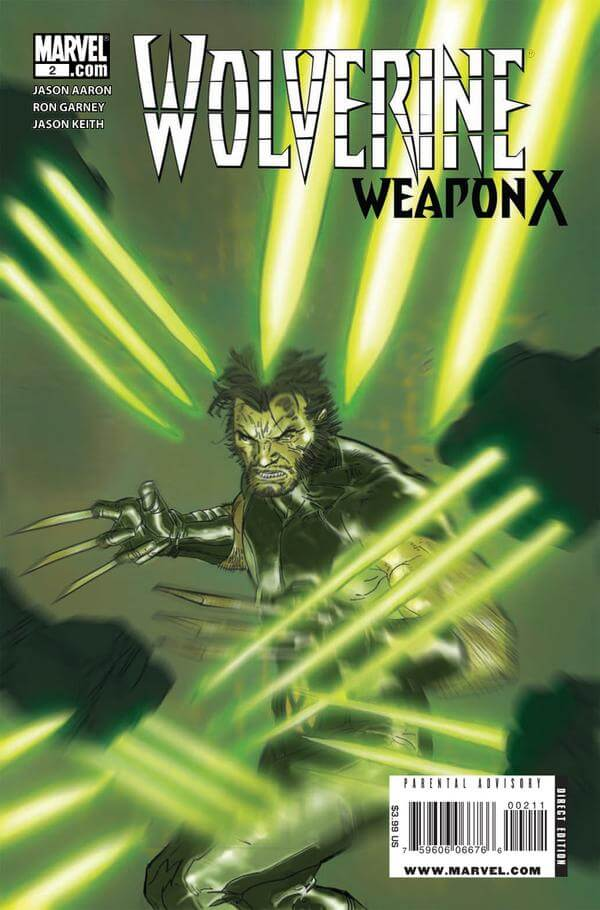 Wolverine Weapon X Vol 1 #2