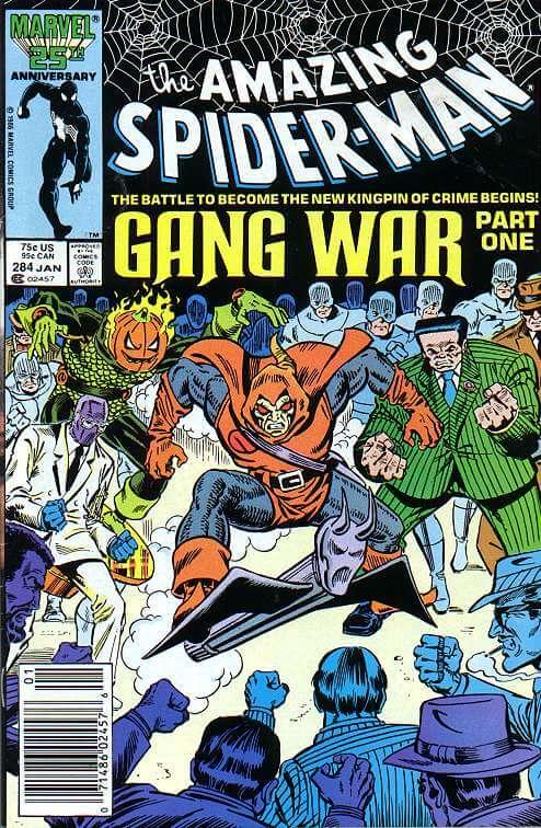 Amazing Spider-Man Vol 1 #284