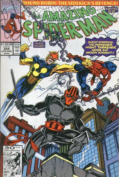 Amazing Spider-Man Vol 1 #354