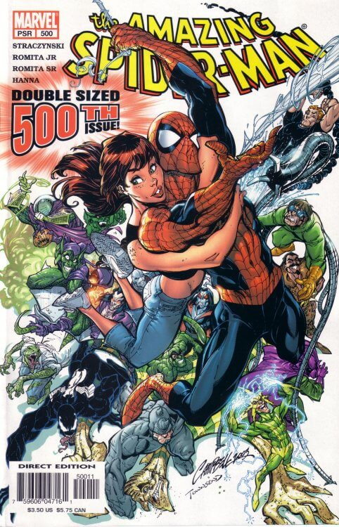 Amazing Spider-Man Vol 1 #500