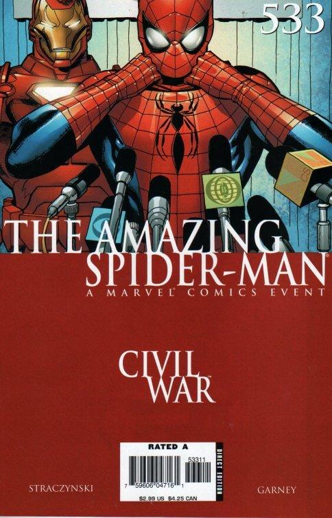 Amazing Spider-Man Vol 1 #533