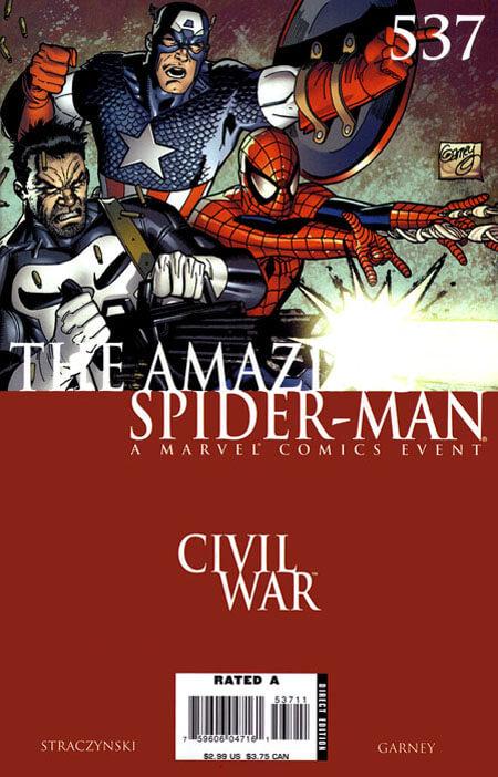 Amazing Spider-Man Vol 1 #537