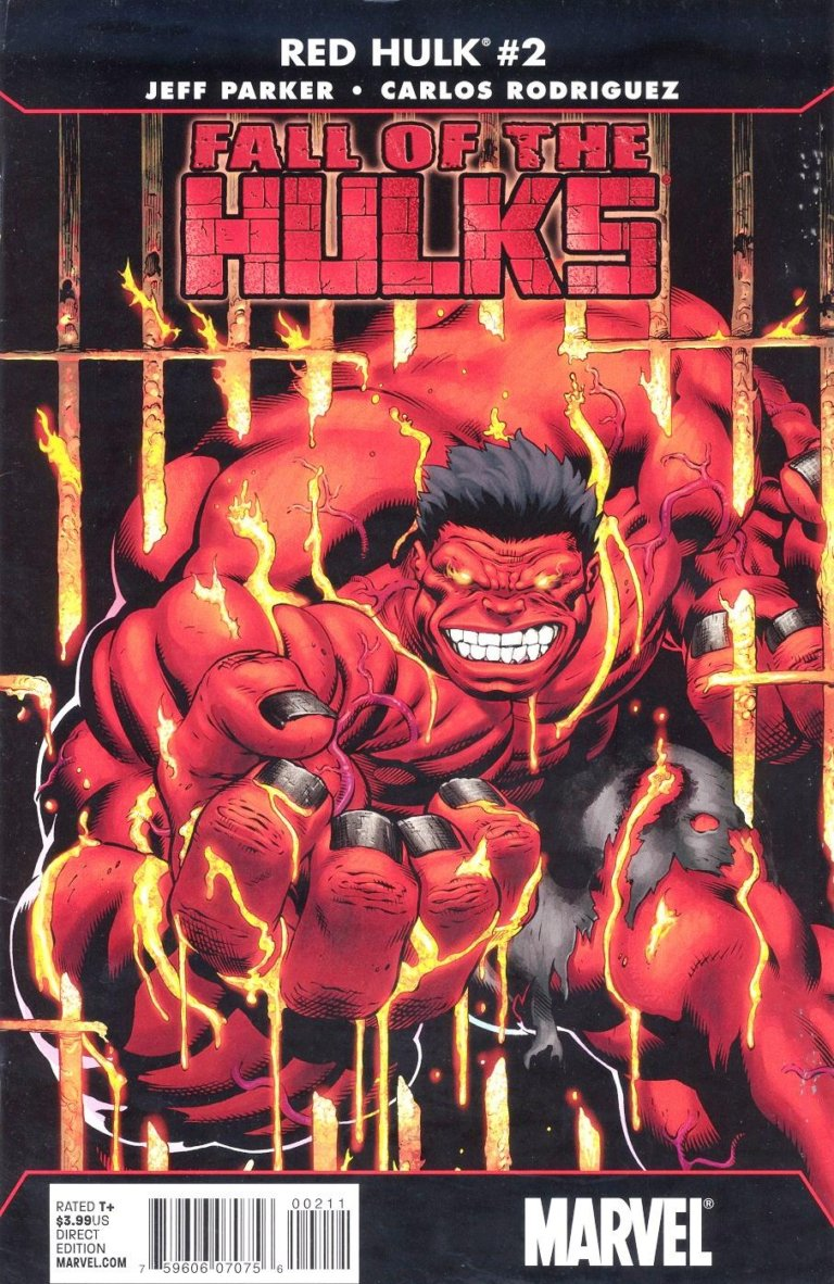 Fall of the Hulks Red Hulk Vol 1 #2