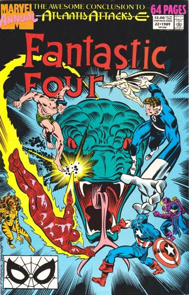 Fantastic Four Annual Vol 1 #22