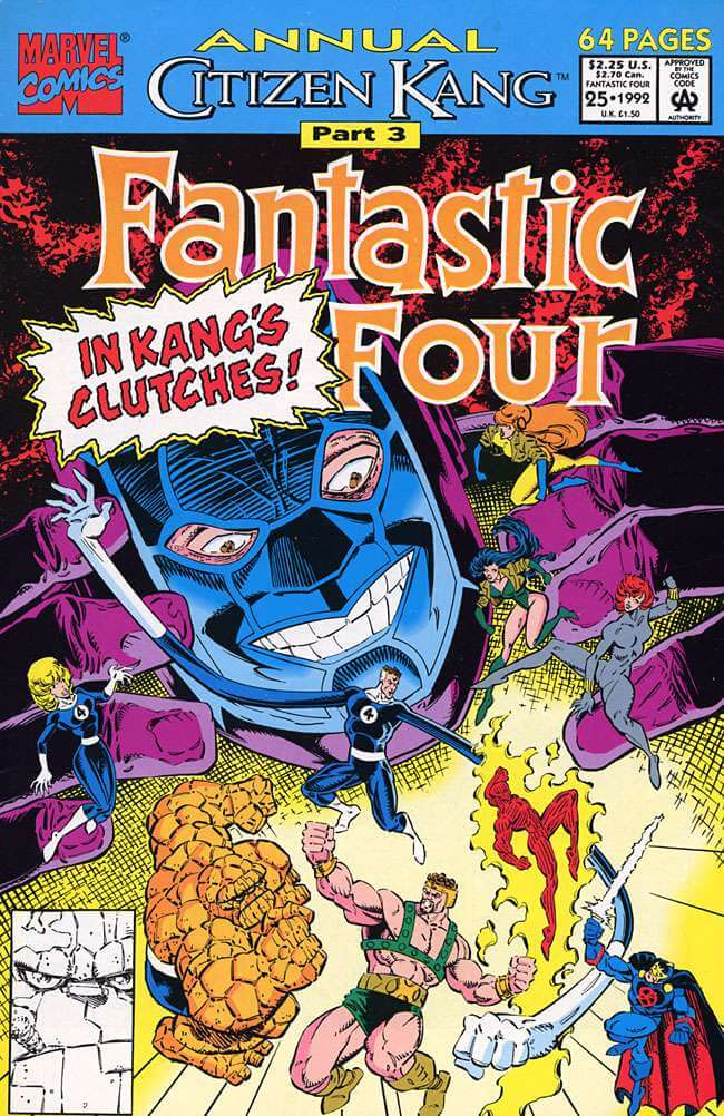 Fantastic Four Annual Vol 1 #25
