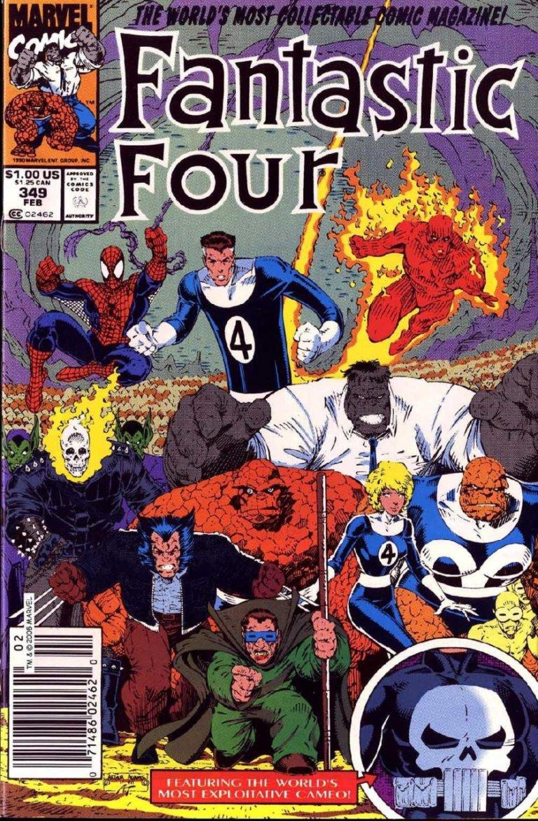Fantastic Four Vol 1 #349