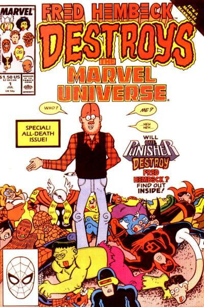 Fred Hembeck Destroys the MU #1