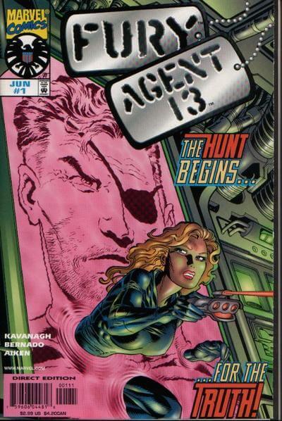 Fury Agent 13 Vol 1 #1