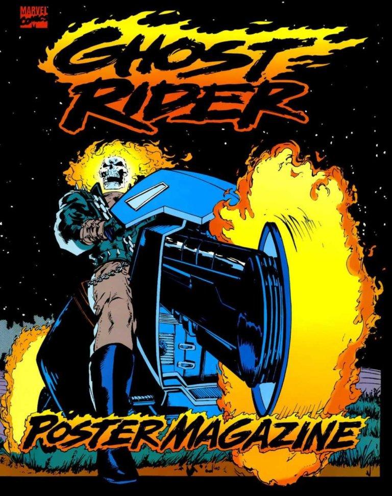 Ghost Rider Poster Magazine