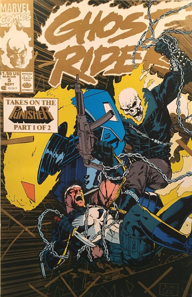 Ghost Rider Vol 3 #5 b