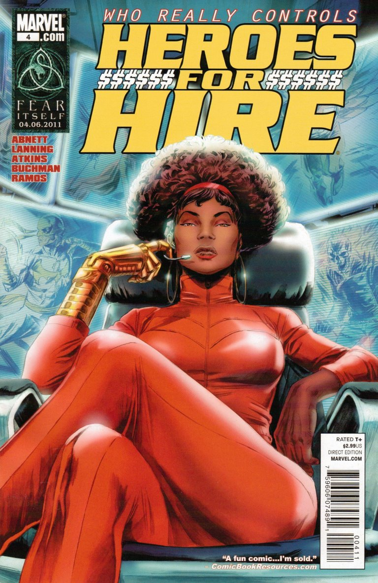 Heroes for Hire Vol 3 #4