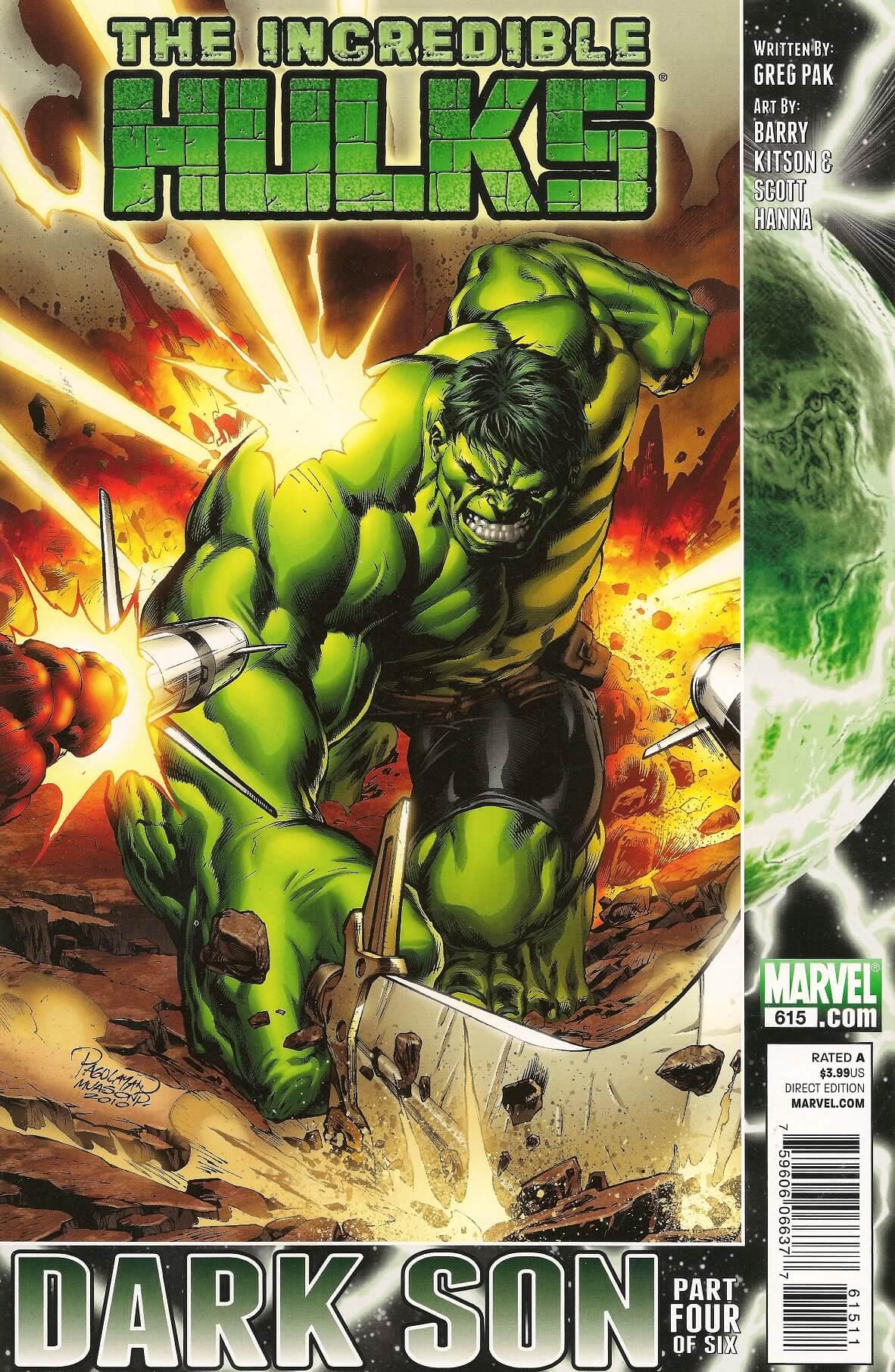 Incredible Hulks Vol 1 615 Punisher Comics