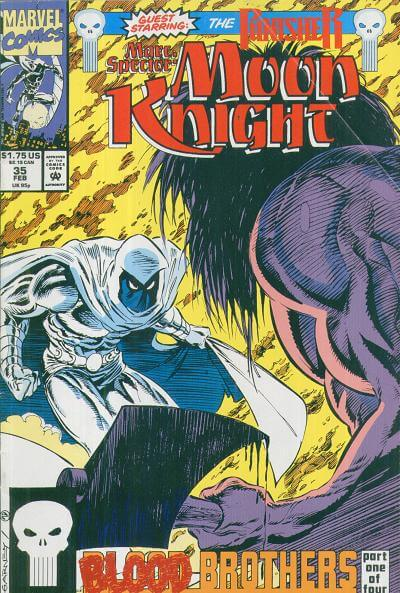 Marc Spector: Moon Knight Vol 1 #35