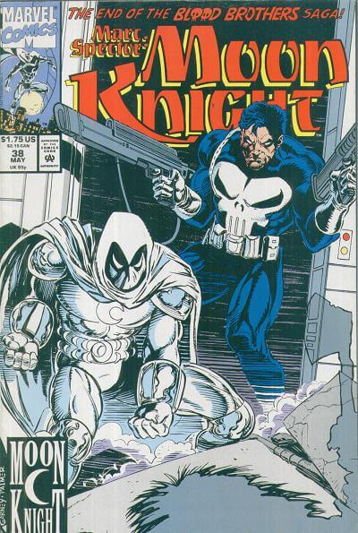 Marc Spector: Moon Knight Vol 1 #38