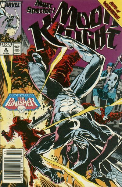 Marc Spector: Moon Knight Vol 1 #8