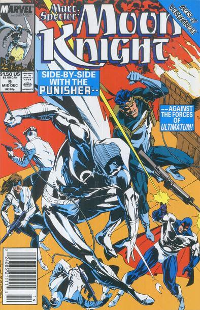 Marc Spector: Moon Knight Vol 1 #9