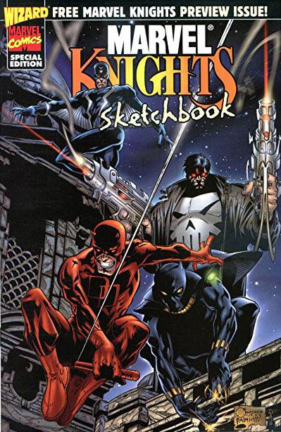 Marvel Knights Sketchbook