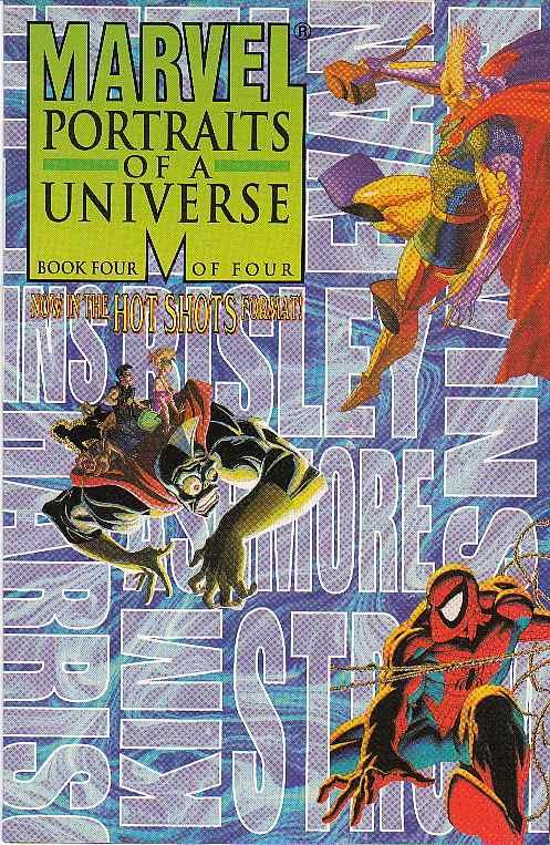Marvel Portraits of a Universe Vol 1 #4