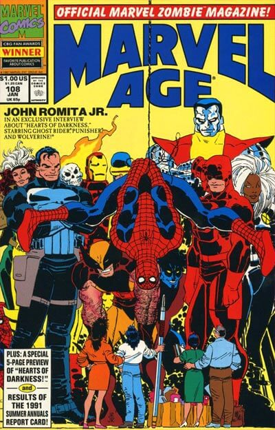 Marvel Age Vol 1 #108