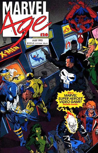 Marvel Age Vol 1 #126